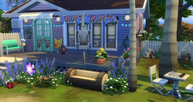 Modjo house at Studio Sims Creation image 1193 670x355 Sims 4 Updates