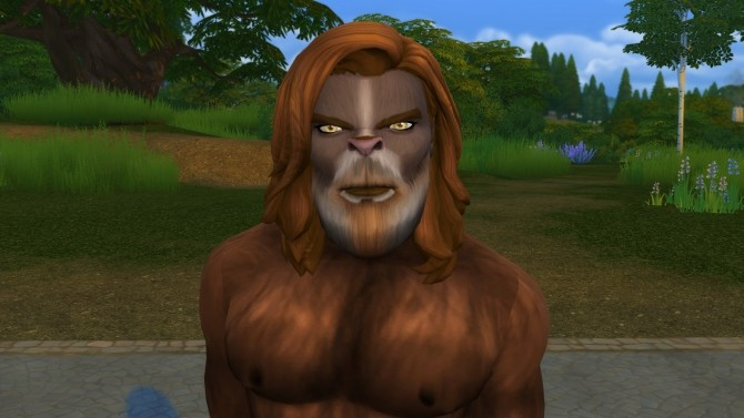 Wolfie Werewolf By Snowhaze At Mod The Sims 187 Sims 4 Updates