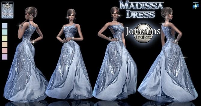 Madissa dress at Jomsims Creations image 1204 670x355 Sims 4 Updates