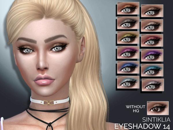 Sims 4 Eyeshadow 14 by Sintiklia at TSR