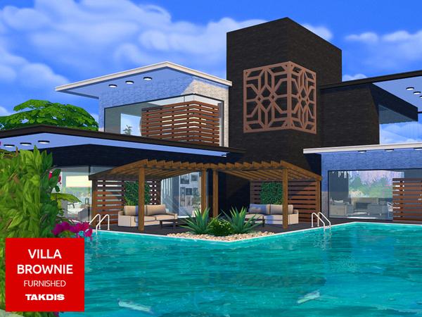 Sims 4 Villa Brownie by Takdis at TSR