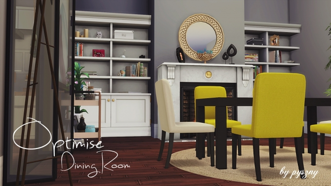 Sims 4 furniture downloads sims 4 updates page 18 of 410 for Sims 3 dining room ideas