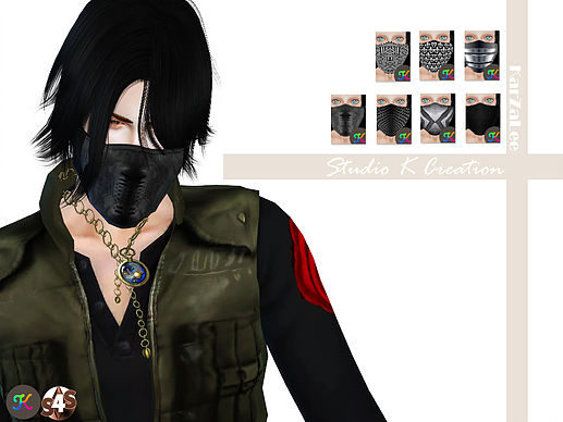 Winter Soldier Mask at Studio K-Creation » Sims 4 Updates