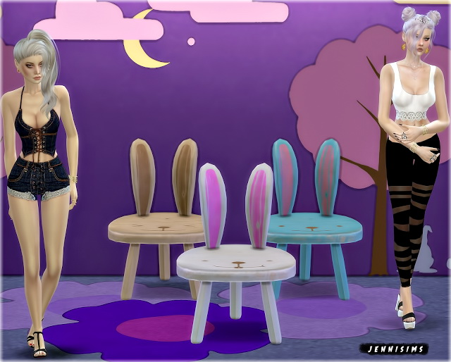 Chairs for Kids (Rabbit, Soccer, Car, Teddy) at Jenni Sims image 1283 Sims 4 Updates