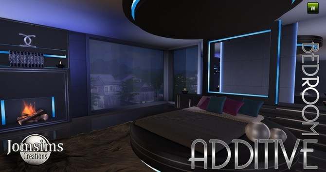 Additive bedroom at jomsims creations sims 4 updates for Bedroom designs sims 4