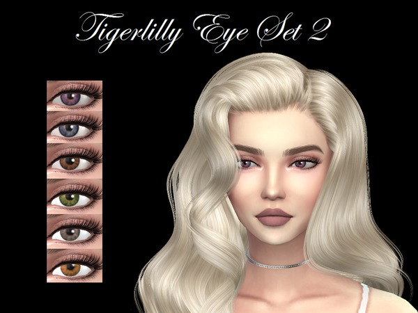 Eye Set #2 by tigerlillyyyy at TSR image 1325 Sims 4 Updates