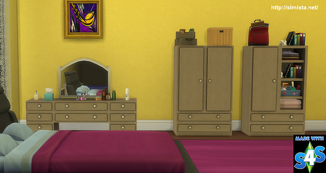 Nevada Bedroom at Simista image 1378 Sims 4 Updates
