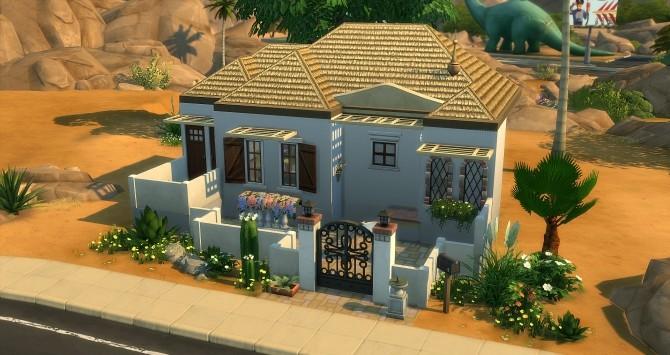 Sims 4 Almeria house at Studio Sims Creation