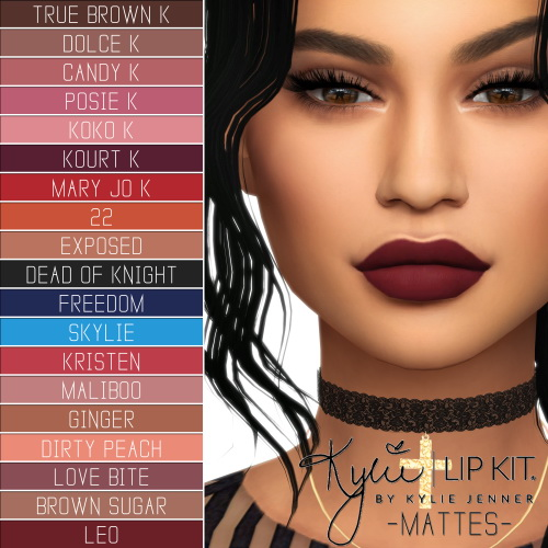 LIp Kit Ultimate Collection at Simpliciaty image 1404 Sims 4 Updates