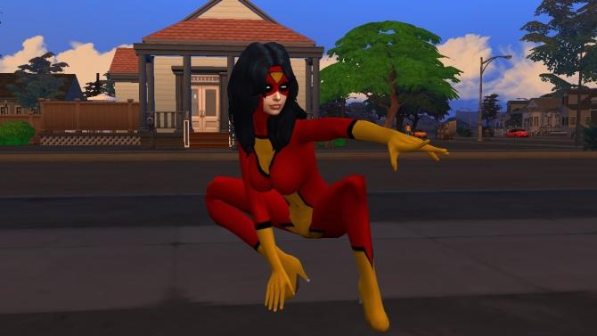 Spider Women Costume By G1g2 At Simsworkshop 187 Sims 4 Updates