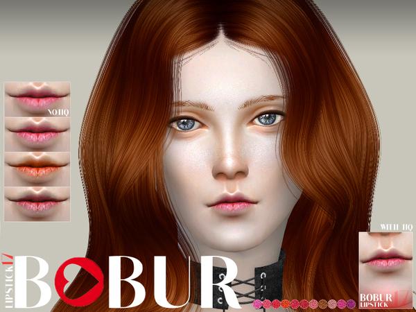 Sims 4 Lipstick 17 by Bobur3 at TSR