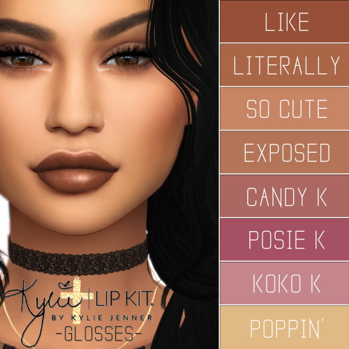 LIp Kit Ultimate Collection at Simpliciaty image 1419 Sims 4 Updates