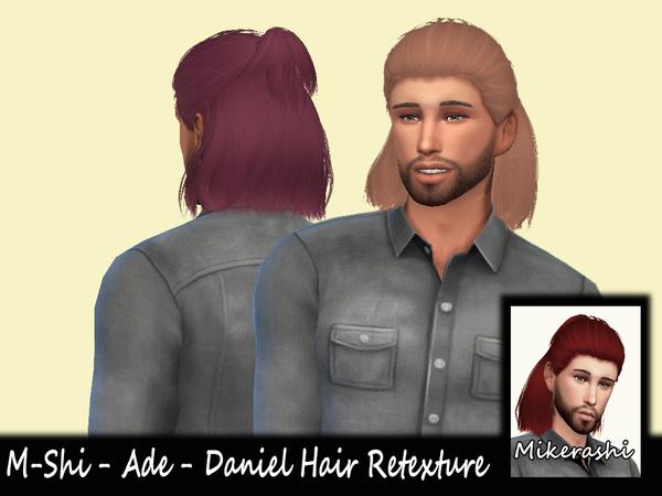 Sims 4 M Shi Ade Daniel Hair Retexture at TSR