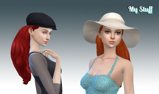 Sims 4 Dream Curls at My Stuff