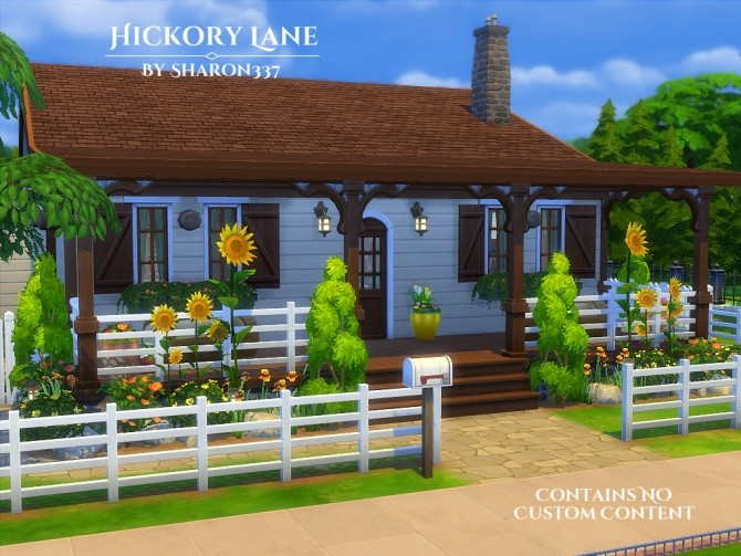Hickory Lane home by Sharon337 at SimsWorkshop image 1451 670x503 Sims 4 Updates