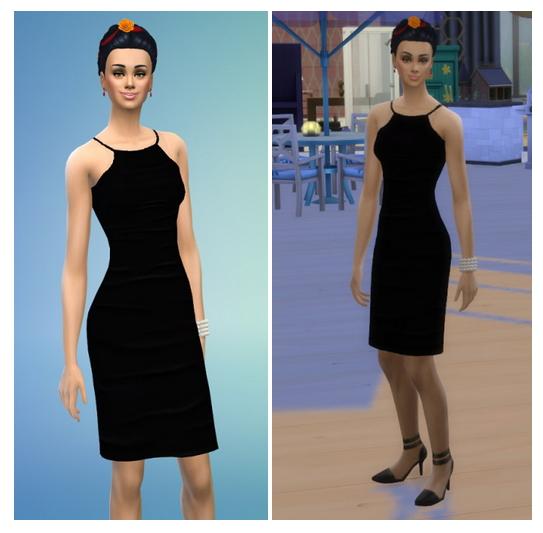 Sims 4 Muerto & Wedding Braids at Birksches Sims Blog