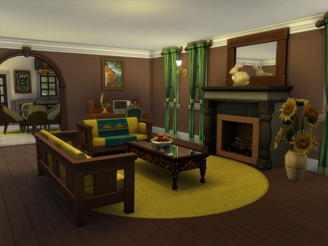 Hickory Lane home by Sharon337 at SimsWorkshop image 1471 670x503 Sims 4 Updates