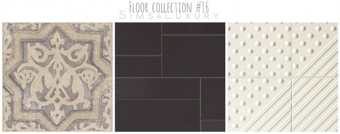 Sims 4 Floor collection #16 at Sims4 Luxury