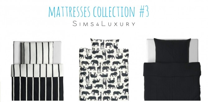 Sims 4 Mattresses collection #3 at Sims4 Luxury