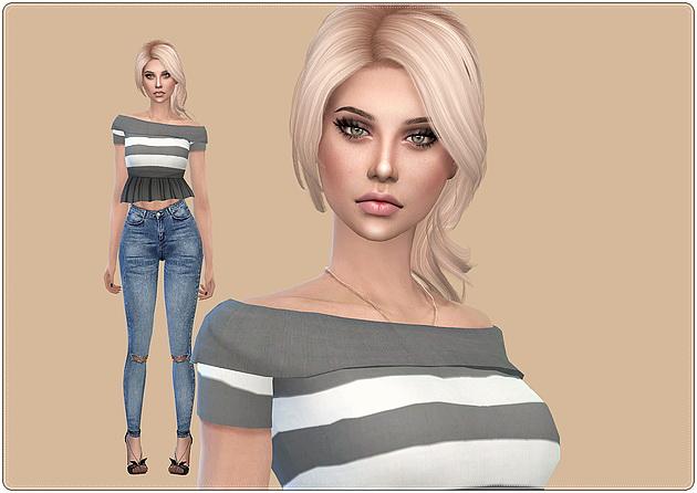 Sims 4 Lesley Charrey at Caeley Sims