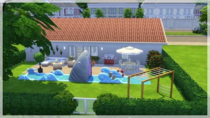 Sims 4 Ark 140 house by Indra at SimsWorkshop