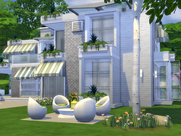 Sims 4 Clara house by Guardgian at TSR