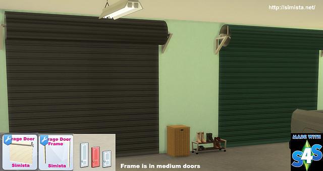 Garage Door Deco Object at Simista image 16115 Sims 4 Updates