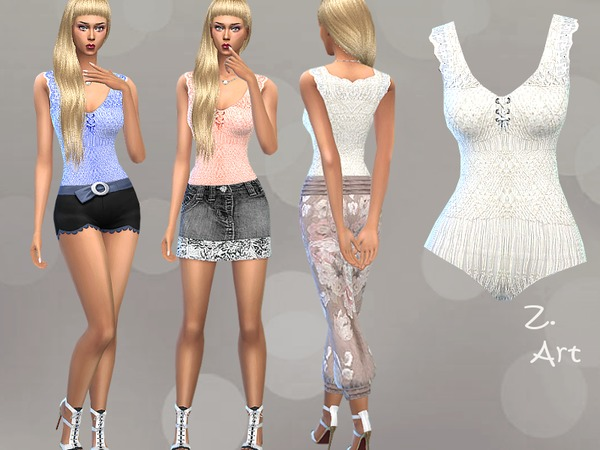 Sims 4 Body Form II by Zuckerschnute20 at TSR
