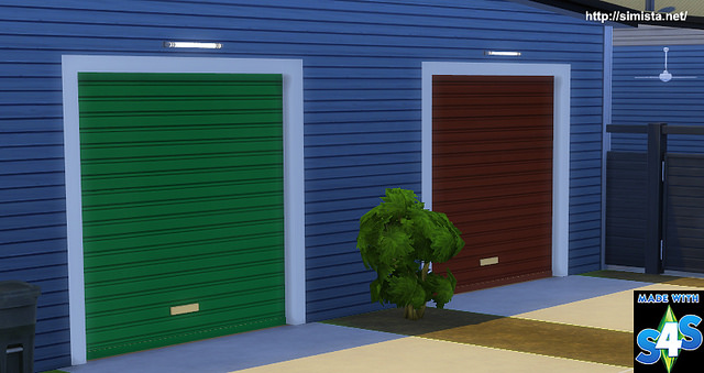 Garage Door Deco Object at Simista image 16212 Sims 4 Updates