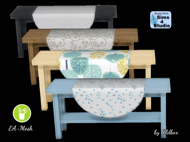 Hall table recolors by Oldbox at All 4 Sims image 1627 Sims 4 Updates