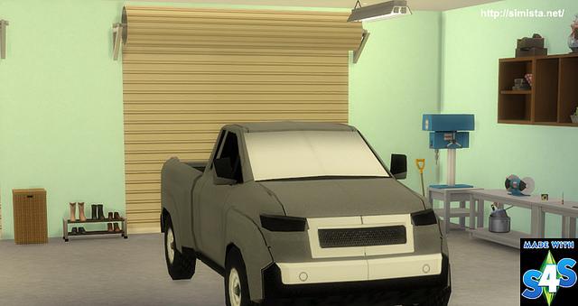 Garage Door Deco Object at Simista image 16311 Sims 4 Updates