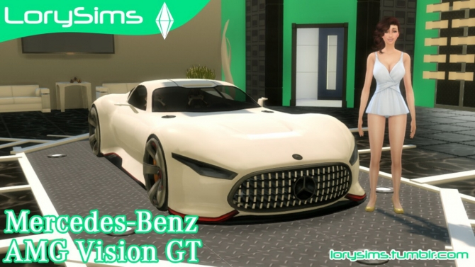 Mercedes Benz Amg Vision Gt At Lorysims 187 Sims 4 Updates
