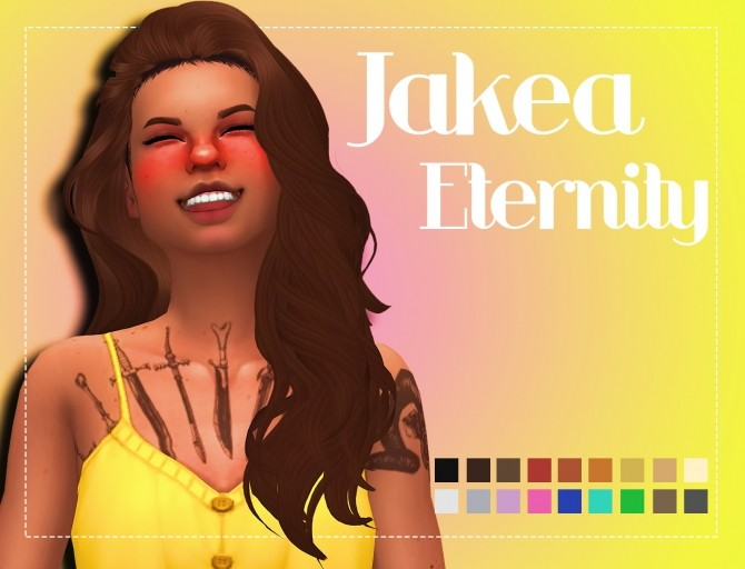 Sims 4 Jakea Eternity Clayified by Weepingsimmer at SimsWorkshop