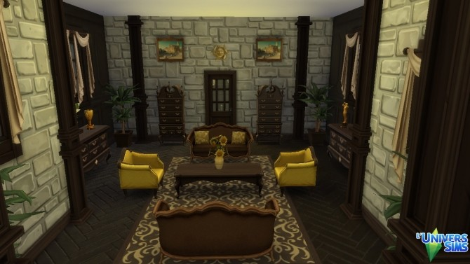Sims 4 Manor windenburg by thesims4house at L'UniverSims