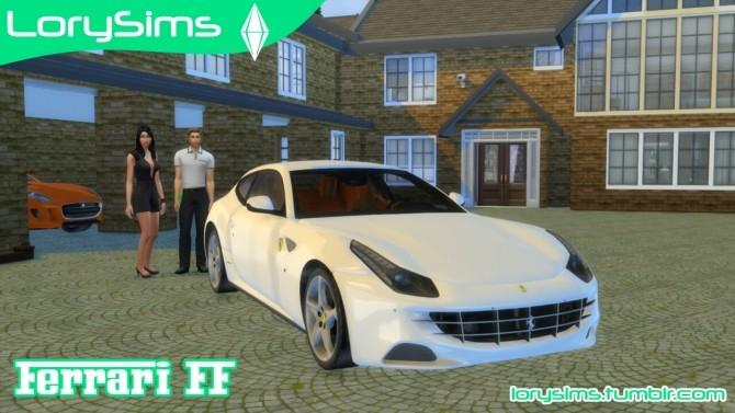Ferrari FF at LorySims image 1787 670x377 Sims 4 Updates