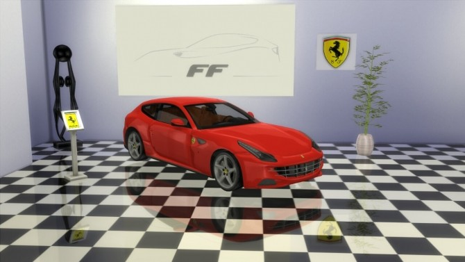 Ferrari FF at LorySims image 1799 670x377 Sims 4 Updates