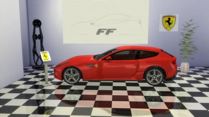 Ferrari FF at LorySims image 1809 670x377 Sims 4 Updates