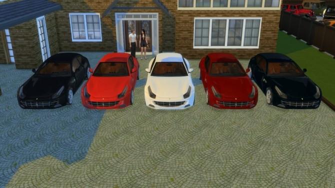 Ferrari FF at LorySims image 18211 670x377 Sims 4 Updates