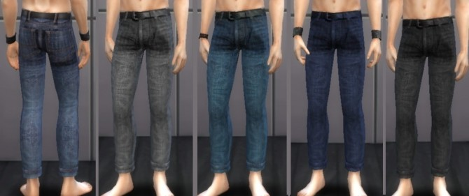 Sims 4 Male Jeans 03 at Tatyana Name