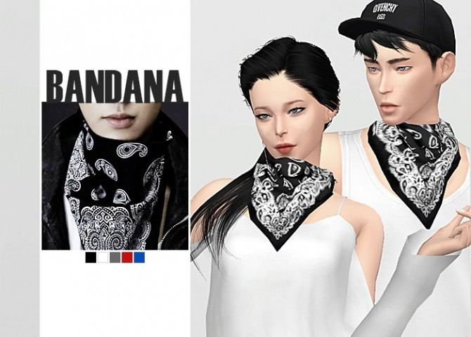 Bandana at Waekey image 1857 670x479 Sims 4 Updates