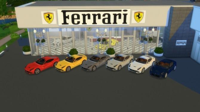 Sims 4 Ferrari F12 Berlinetta at LorySims