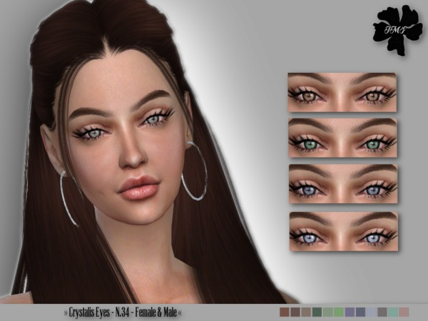 Sims 4 IMF Crystalis Eyes N.34 F/M by IzzieMcFire at TSR