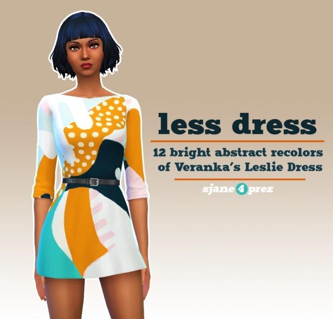 Veranka s4ccs leslie dress recolors at 4 Prez Sims4 image 2002 670x641 Sims 4 Updates