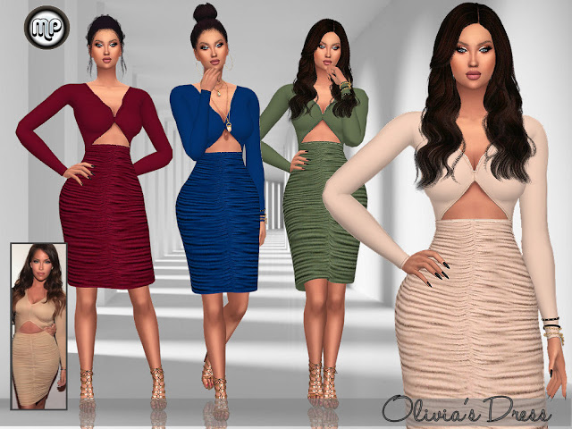 MP Olivias Dress at BTB Sims – MartyP image 2013 Sims 4 Updates