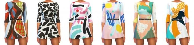 Veranka s4ccs leslie dress recolors at 4 Prez Sims4 image 2014 670x158 Sims 4 Updates