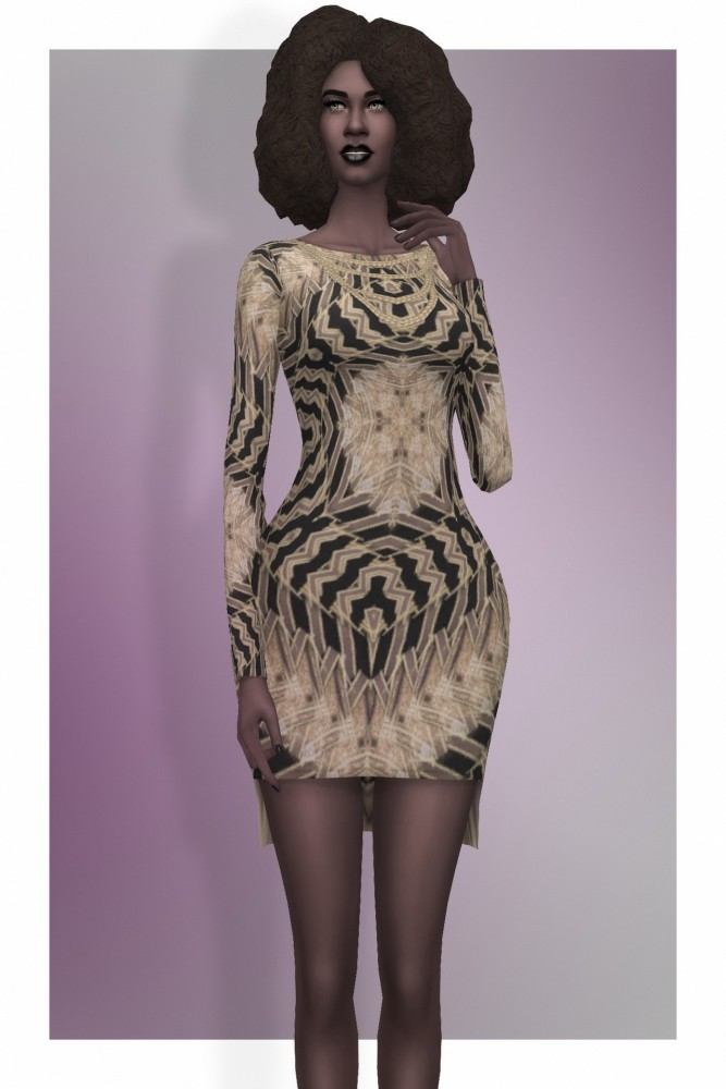 EP02 High Low Party dress at Busted Pixels image 2043 667x1000 Sims 4 Updates