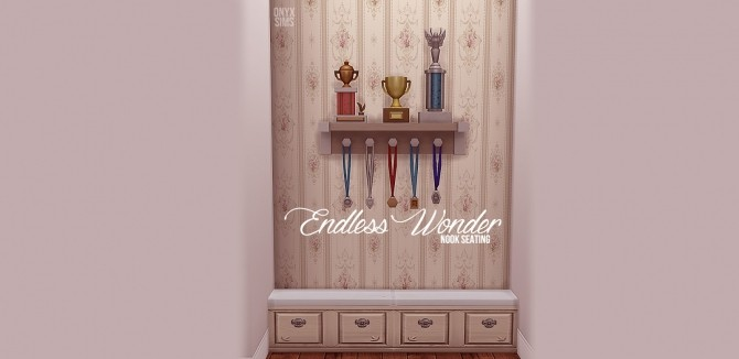 Endless Wonder Nook Seating by Kiara Rawks at Onyx Sims image 2046 670x326 Sims 4 Updates