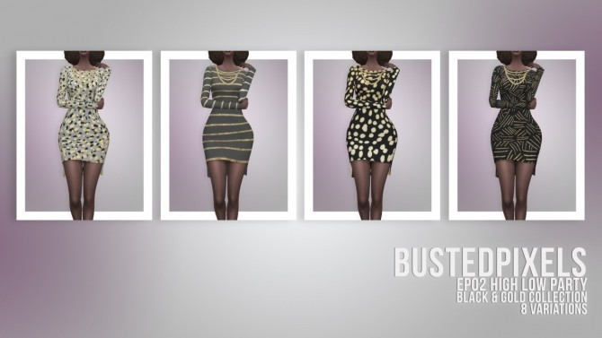 EP02 High Low Party dress at Busted Pixels image 2053 670x377 Sims 4 Updates