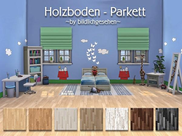 Wood floor parquet by Bildlichgesehen at Akisima image 2066 Sims 4 Updates