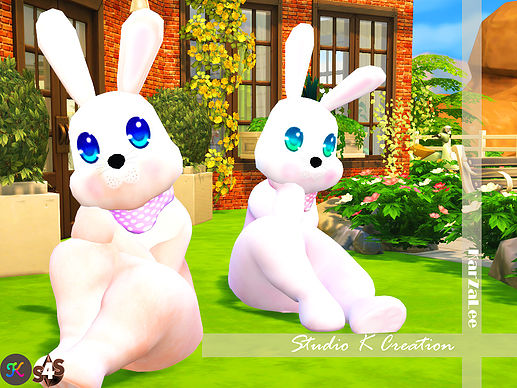 Sims 4 SKC Bunny costume at Studio K Creation